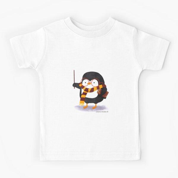 The Wizard Penguin Kids T-Shirt