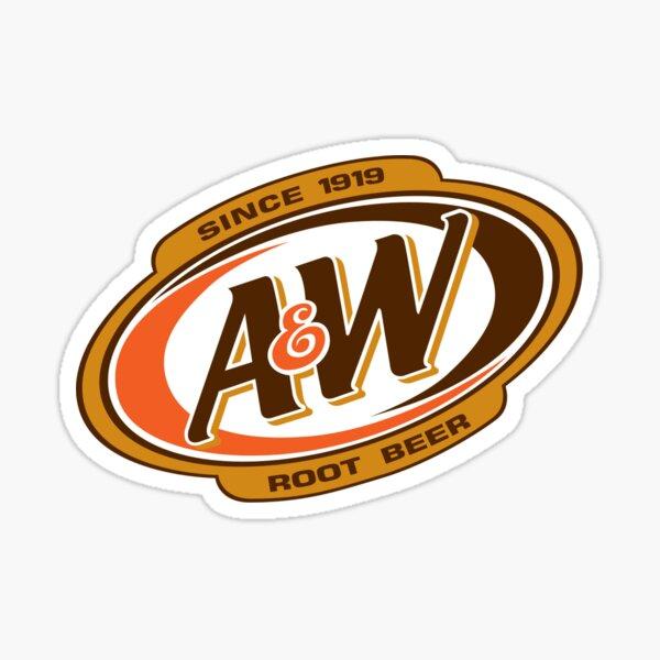 Bière Racine A & W Sticker