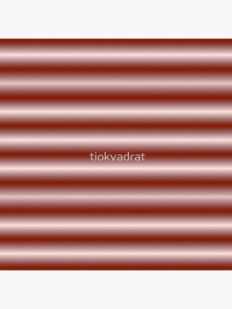 Vibrating Horizontal Bars - Red Orange by tiokvadrat