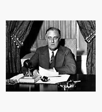 President Franklin Roosevelt Photographic Print