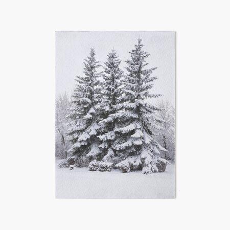 Snow Day Art Board Print