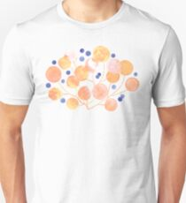 Pompom Plants in Pastels  Slim Fit T-Shirt