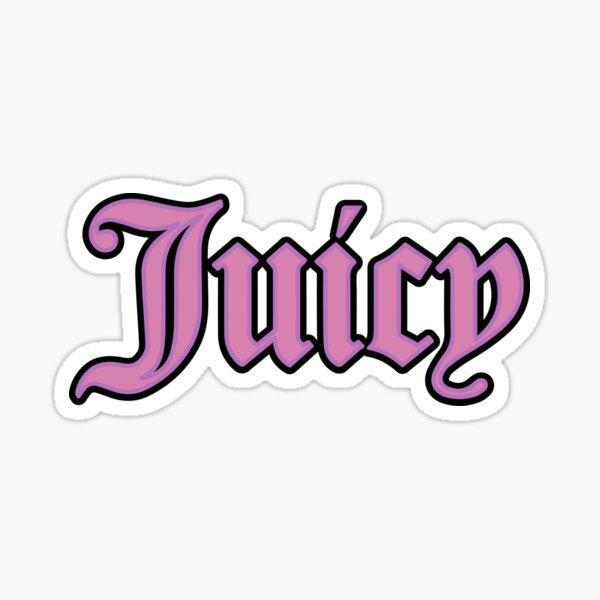 Juicy  Sticker