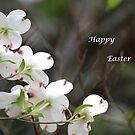 Dogwood Tree - Happy Easter by DebbieCHayes