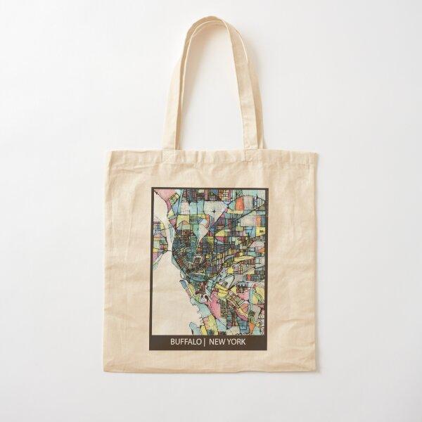 Buffalo, NY Cotton Tote Bag