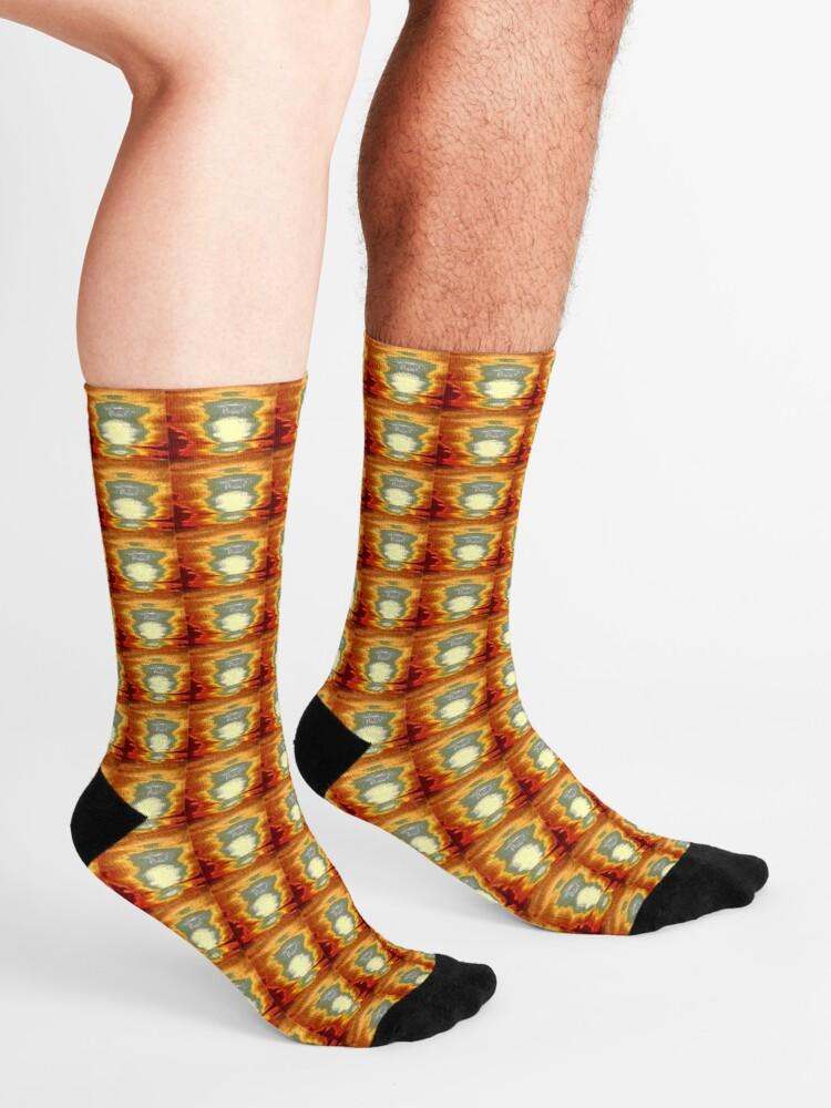 Alternate view of Tejo sunset Socks