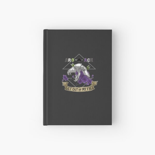 Aro+Ace - Get Out of My Face Hardcover Journal