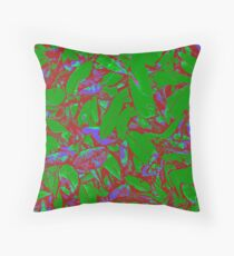 Leaf Alone or in Groups Throw Pillow