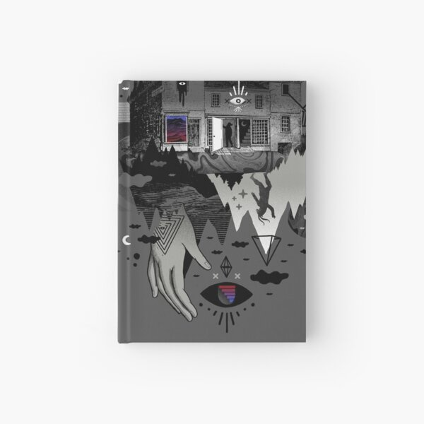 House is Not a Home Hardcover Journal