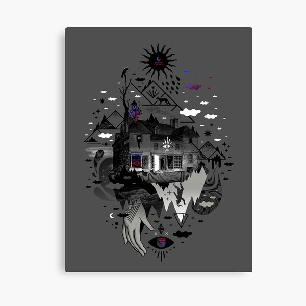 House is Not a Home Canvas Print