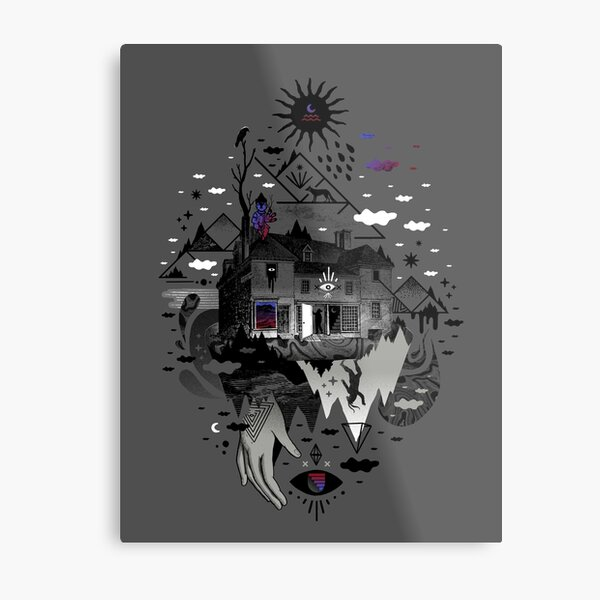 House is Not a Home Metal Print