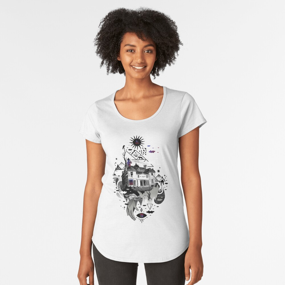House is Not a Home Premium Scoop T-Shirt