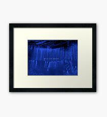 blue diaries petula clark Framed Print