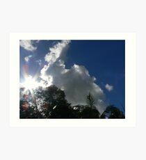 Clouds over Boonah Queensland Australia Art Print