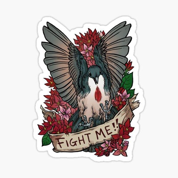FIGHT ME!! Sticker