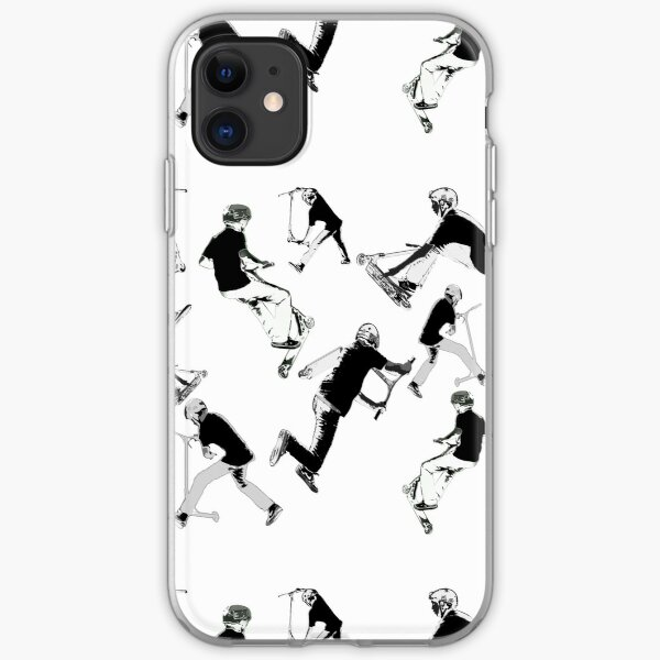 Airtime!- Stunt Scooter Fun iPhone Soft Case