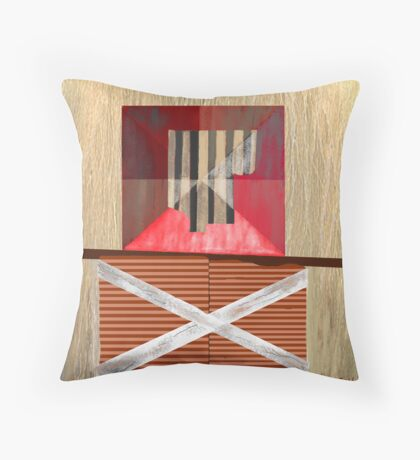 """""""A System of Compensations"""" Throw Pillow"""