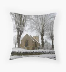 St Margaret's,Alderton Throw Pillow