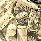 Corks in a Pile  by shilohrachelle