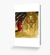 Moses in Egypt Greeting Card