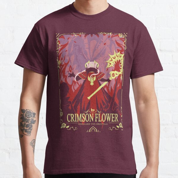 Crimson Flower Classic T-Shirt