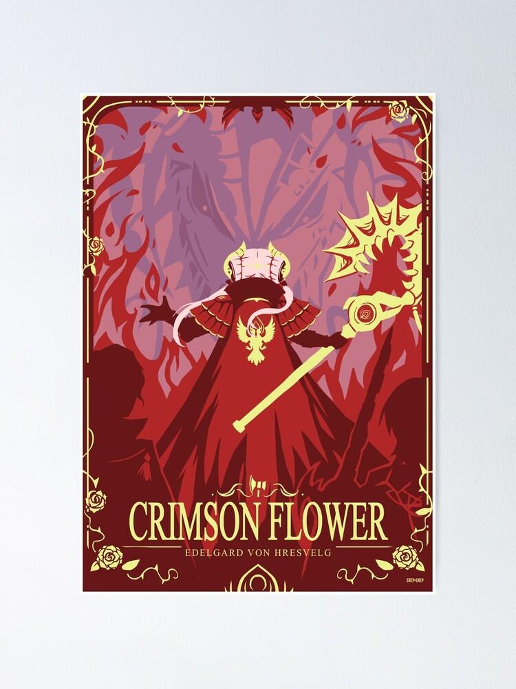 Alternate view of Crimson Flower Poster