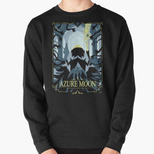 Azure Moon Pullover Sweatshirt