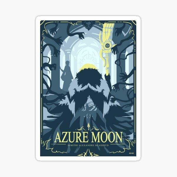 Azure Moon Sticker