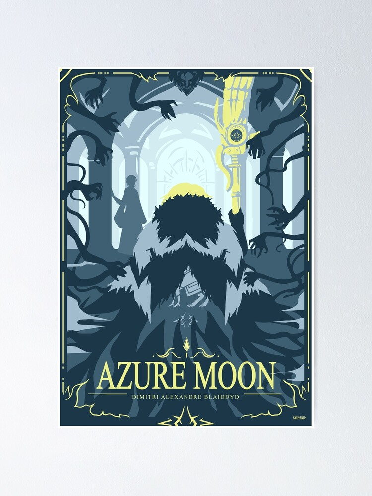 Alternate view of Azure Moon Poster