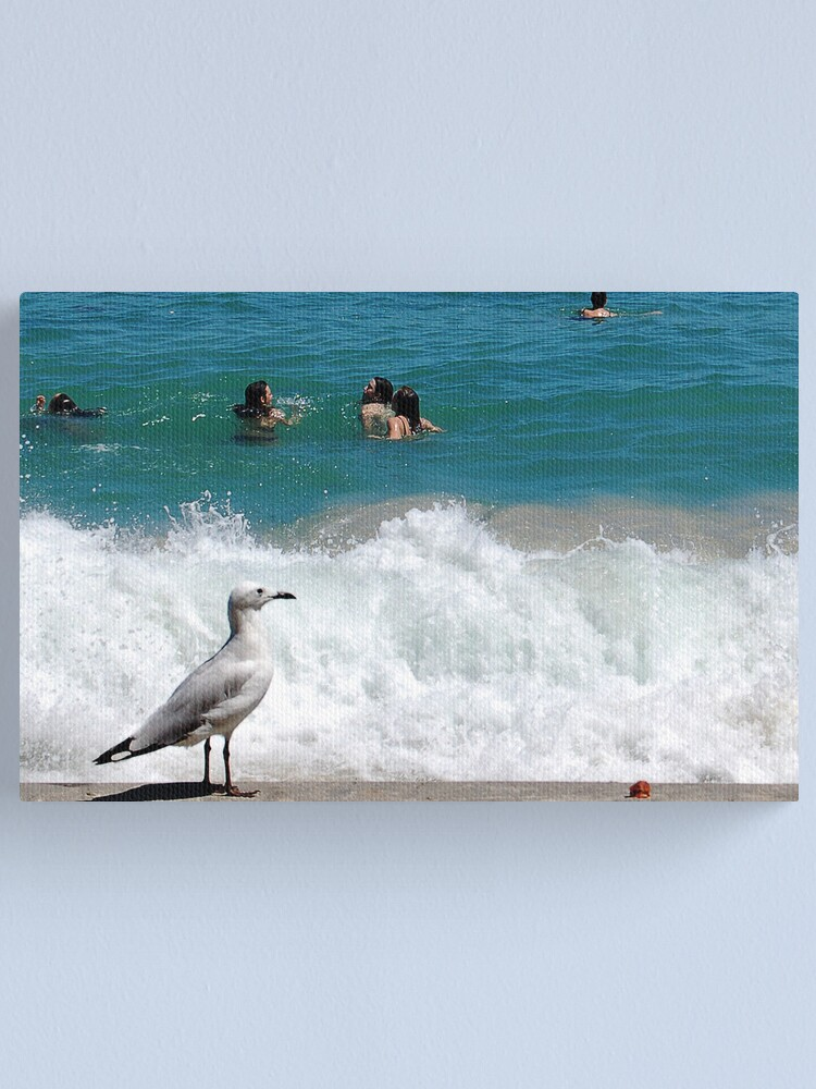Alternate view of A Seagulls Point of View Canvas Print