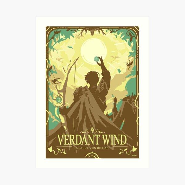 Verdant Wind Art Print