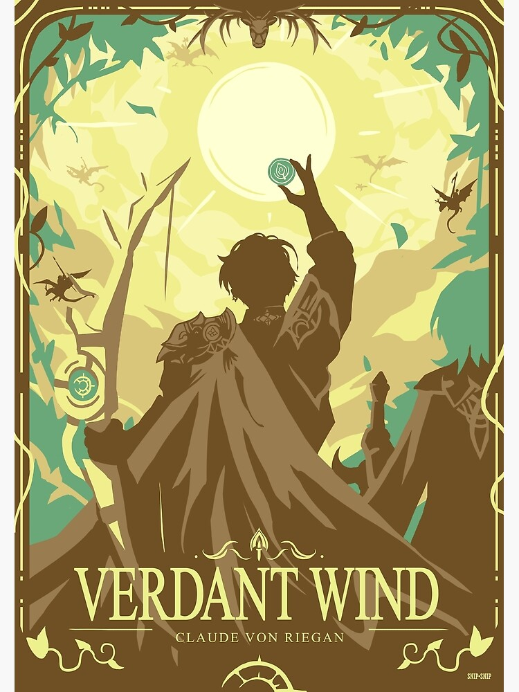 Verdant Wind by SnipSnipArt