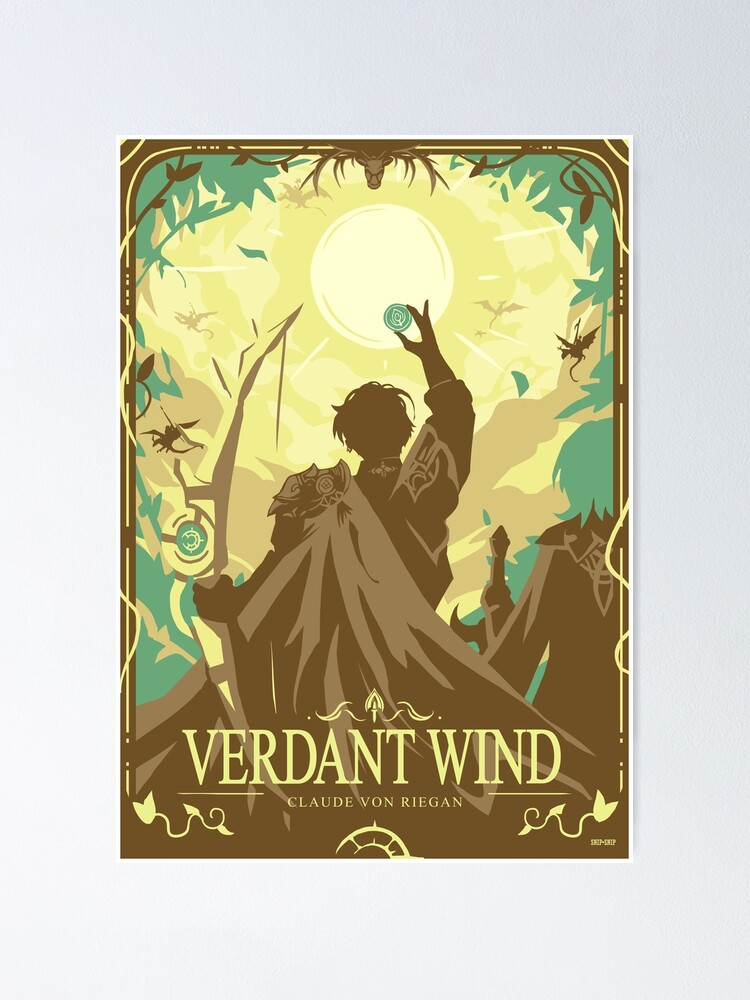 Alternate view of Verdant Wind Poster