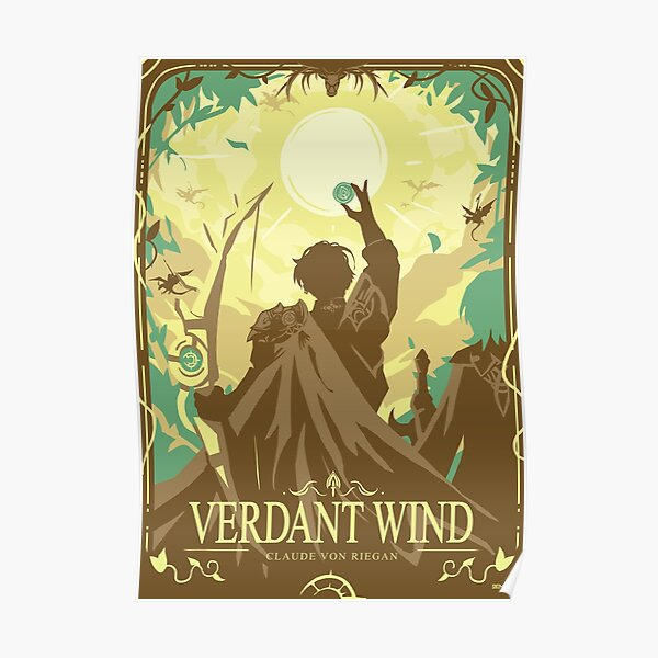 Verdant Wind Poster
