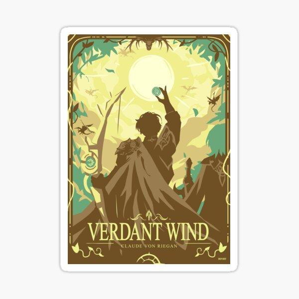 Verdant Wind Sticker