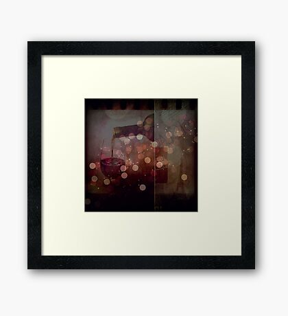 Just A Memory Framed Print
