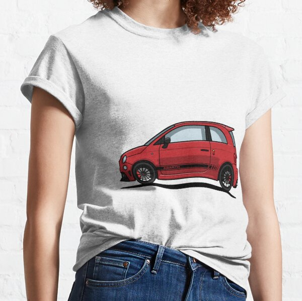 Abarth 595 Rouge T-shirt classique