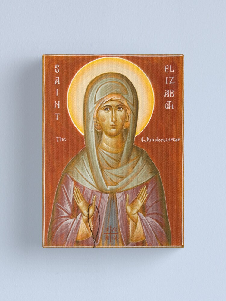 Alternate view of St Elizabeth the Wonderworker Canvas Print