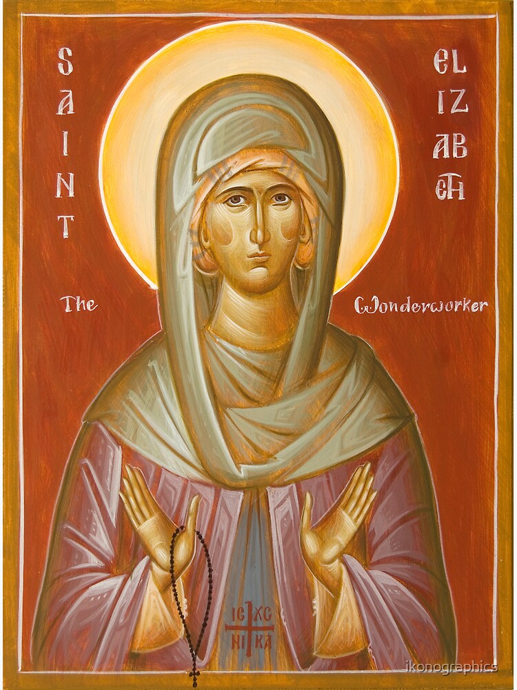 St Elizabeth the Wonderworker by ikonographics