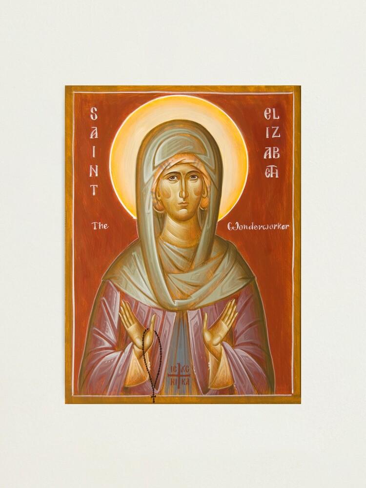 Alternate view of St Elizabeth the Wonderworker Photographic Print