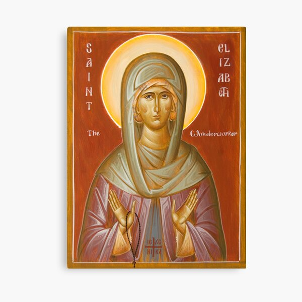 St Elizabeth the Wonderworker Canvas Print