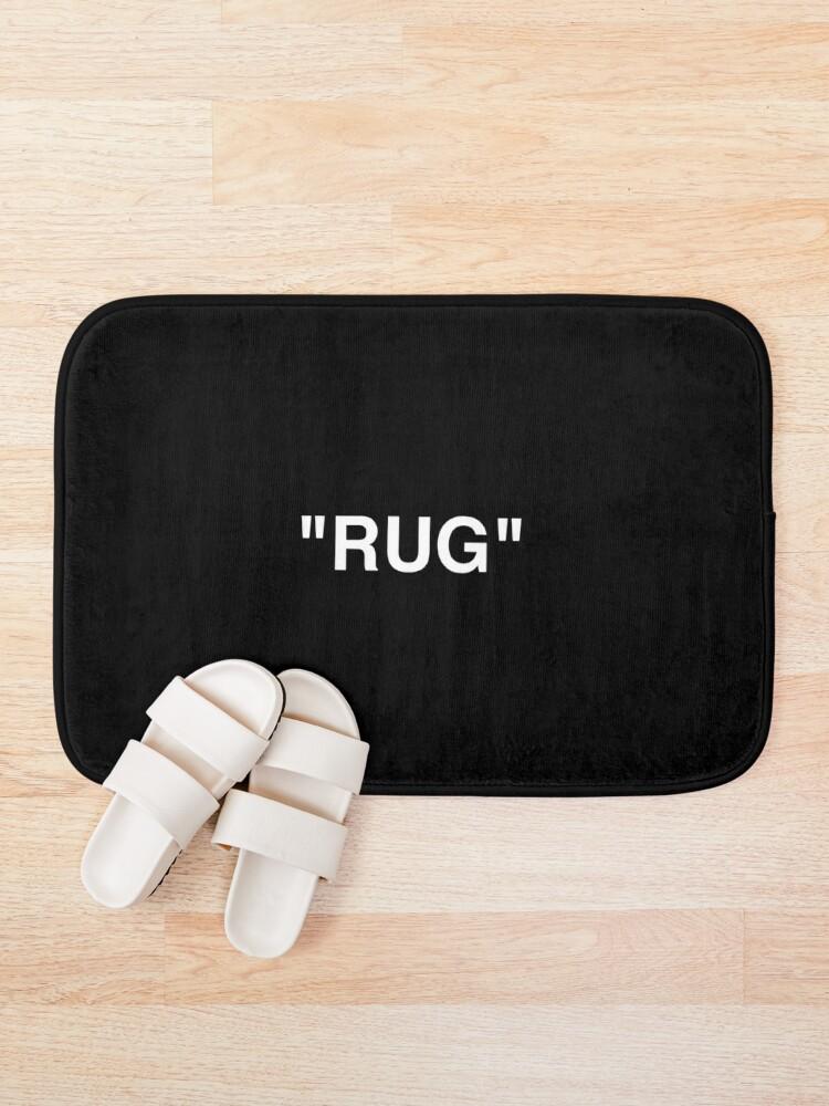 "Alternate view of ""RUG"" Bath Mat"