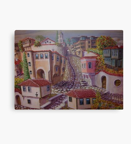Plovdiv old town Canvas Print