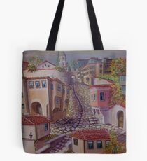 Plovdiv old town Tote Bag