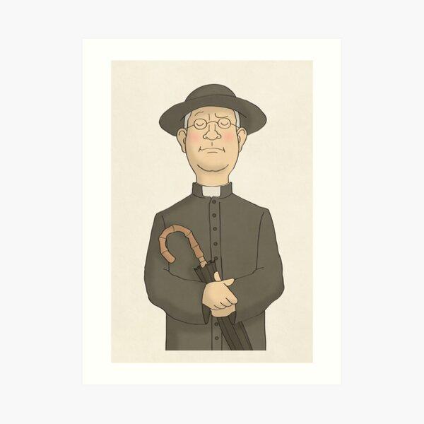 Pater Brown Kunstdruck