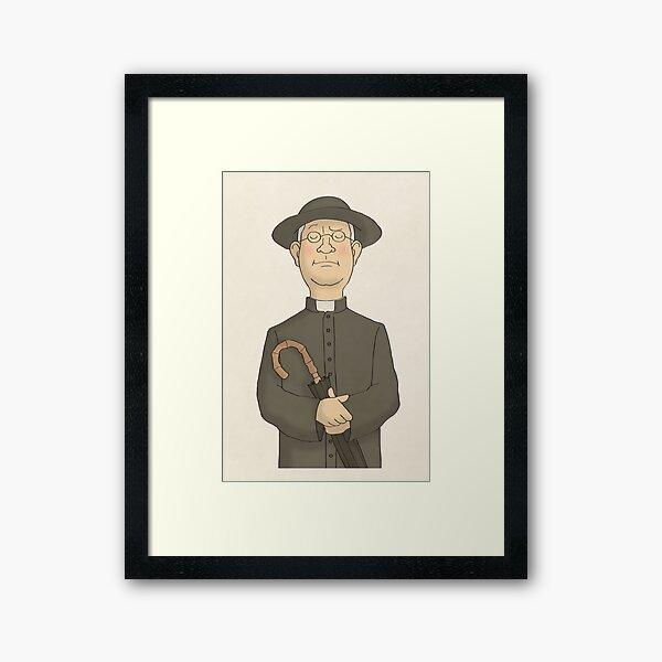 Father Brown Framed Art Print