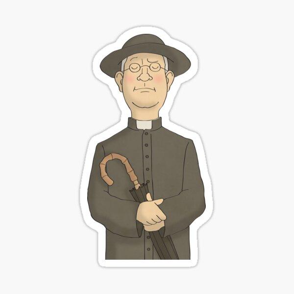 Pater Brown Sticker