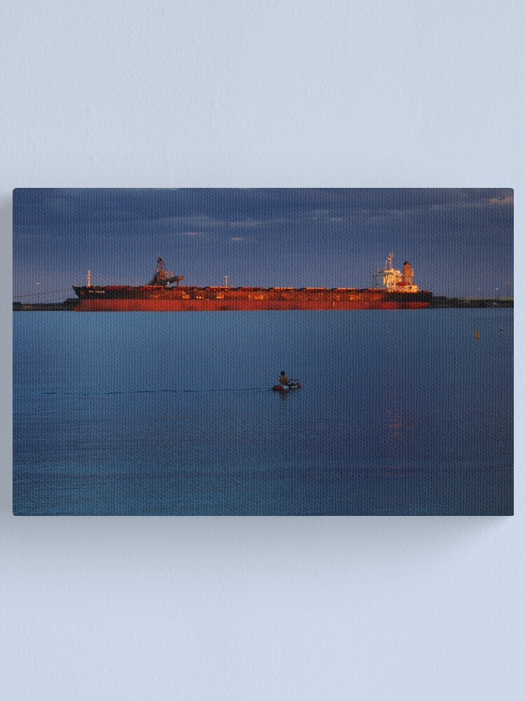 Alternate view of The Warmth of the Setting Sun Canvas Print