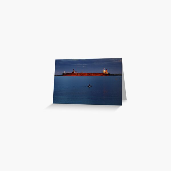 The Warmth of the Setting Sun Greeting Card