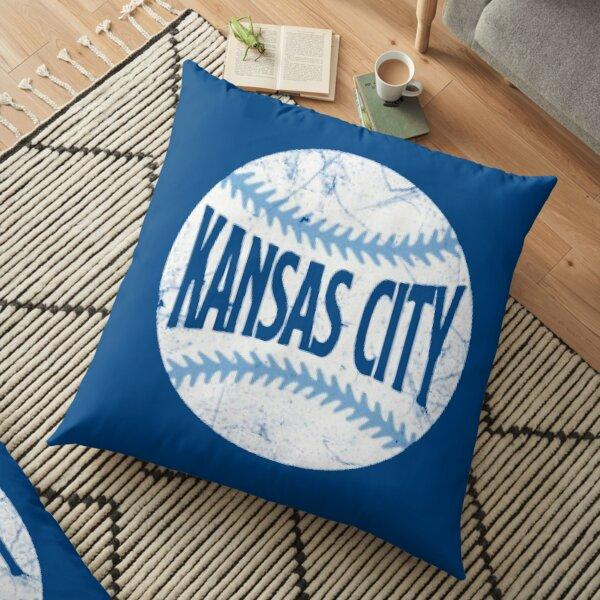 Kansas City Royals - Blue Floor Pillow